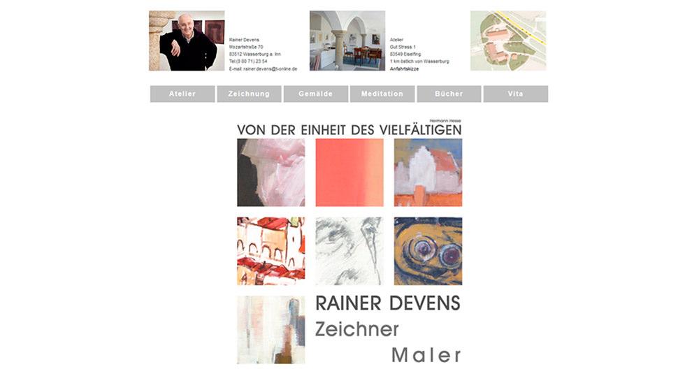 Rainer Devens | Künstler